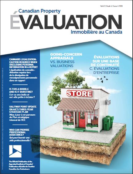 Évaluations sur une base de continuité vs. évaluations d'entreprise