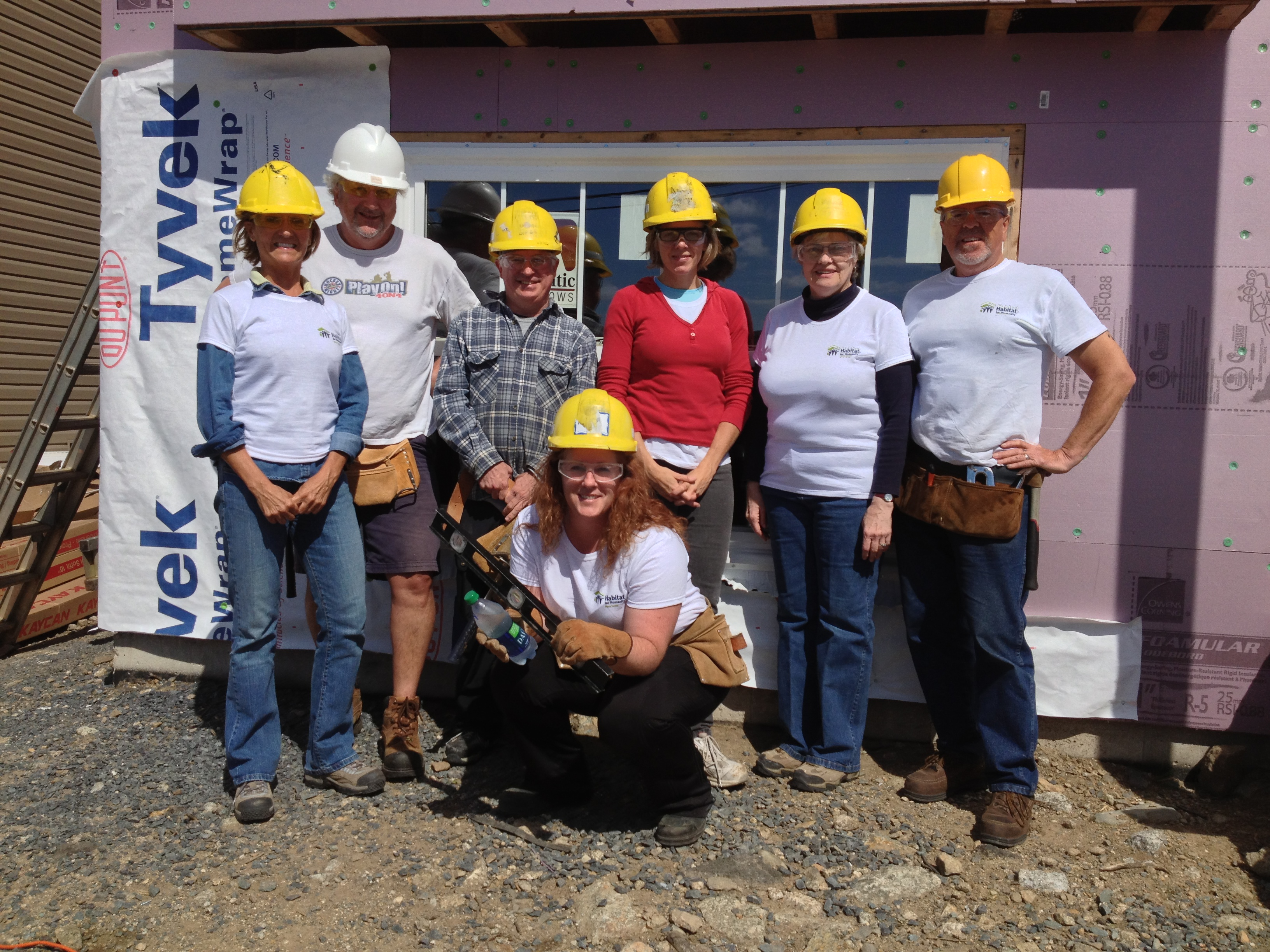 AIC team builds a home for a family in Halifax, Nova Scotia