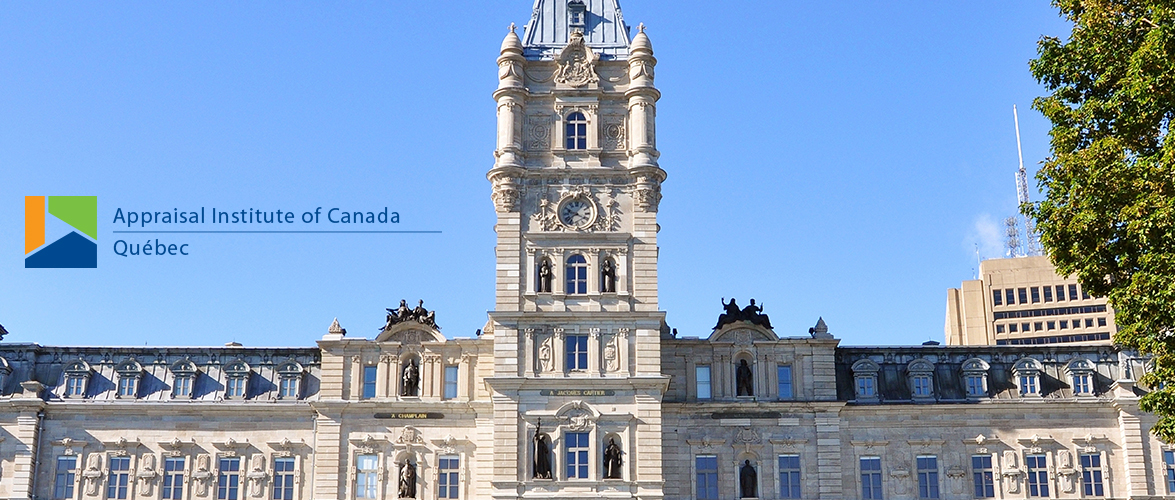 Appraisal Institute of Canada - Québec
