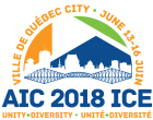 AIC 2018 ICE conference logo